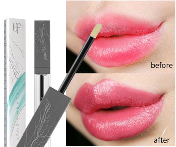Magical Lip Plumper-Waterproof Volumizing Clear Lip Gloss