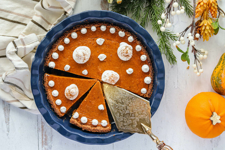 Gingerbread Pumpkin Pie