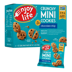 Crunchy Mini Cookies | Chocolate Chip