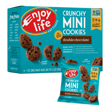 Crunchy Mini Cookies | Double Chocolate