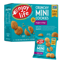 Crunchy Mini Cookies | Sugar Crisp