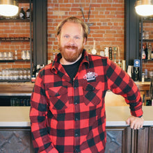 Load image into Gallery viewer, Publican Buffalo Plaid Fleece Jacket