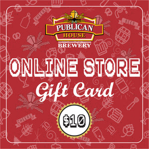 $10 Publican House Brewery Digital Gift Card