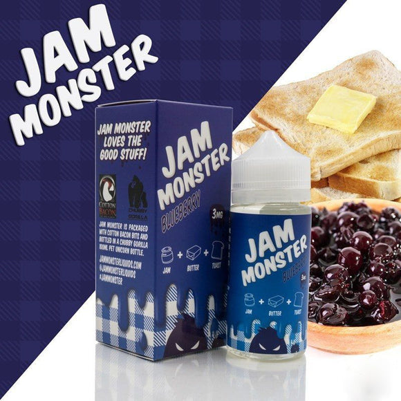 Jam Monster - Blueberry 100ml 3mg