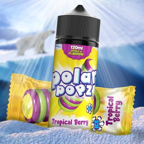 TVF Polar Popz - Tropical Berry 120ml 2mg