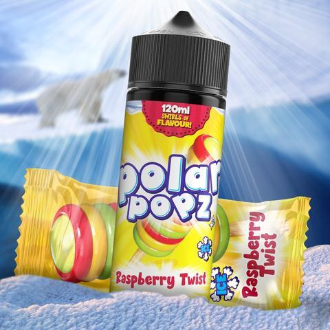 TVF Polar Popz - Raspberry Twist 120ml 2mg