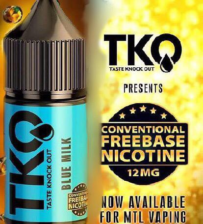 TKO - Blue Milk 12mg MTL