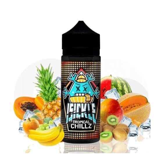 Isickle -Tropical Chillz 120ml 3MG