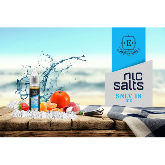 Joose E-Liquid - SNLV 18 ICE Nic Salts
