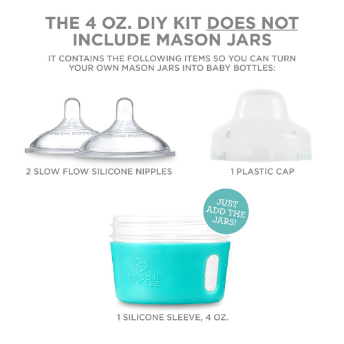 BOTTLE - BABY - DIY KIT - Damn Plastic
