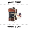 POCKET BOTTLE #FLACHMANN - Damn Plastic