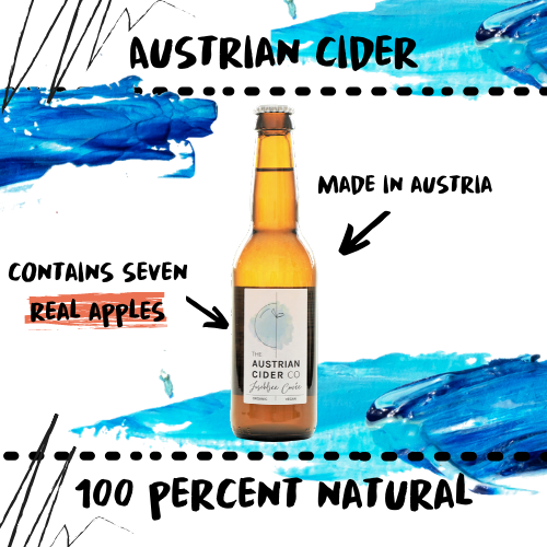 AUSTRIAN CIDER - 100% NATURAL AND ORGANIC - Damn Plastic