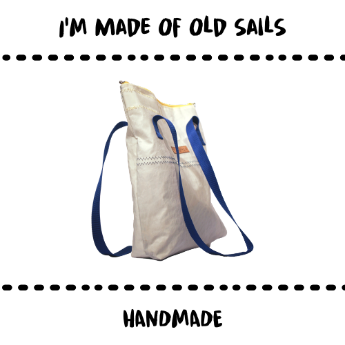 BAG - UPCYCLED SAILS - Damn Plastic