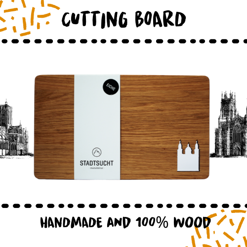 CUTTING BOARD - WALNUT SALZBURG - Damn Plastic