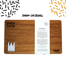 Load image into Gallery viewer, CUTTING BOARD - WALNUT SALZBURG - Damn Plastic