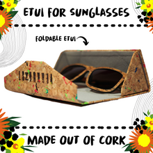 Load image into Gallery viewer, SUNGLASSES - CORK - Damn Plastic