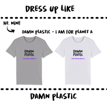 Load image into Gallery viewer, ORGANIC JERSEY T-SHIRT - MEN - Damn Plastic