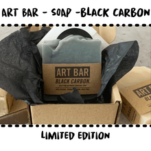 Load image into Gallery viewer, SOAP - BLACK CARBON - ART BAR