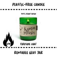 Load image into Gallery viewer, CANDLE - FIRESIDE CHAT - Damn Plastic