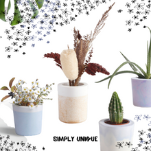 Load image into Gallery viewer, FLOWER POT - DIY SET - Damn Plastic