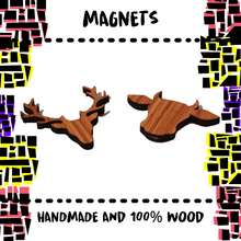 Load image into Gallery viewer, WOODEN MAGNETS - Damn Plastic