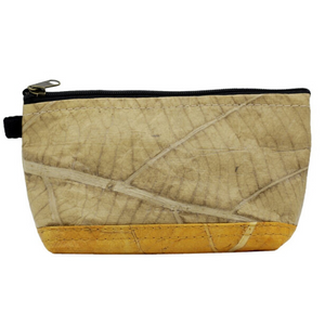 COSMETIC BAG - MADE OF LEAFS