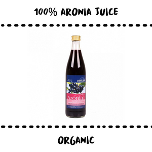JUICE - ARONIA 100% #SUPERFOOD - Damn Plastic