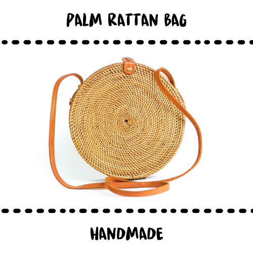 BAG - RATTAN PALM - Damn Plastic