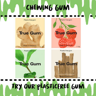 CHEWING GUM - BIODEGRADABLE - Damn Plastic