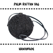 Load image into Gallery viewer, BAG - RATTAN BLACK - Damn Plastic