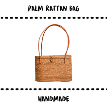 Load image into Gallery viewer, BAG - RATTAN #MADAME - Damn Plastic