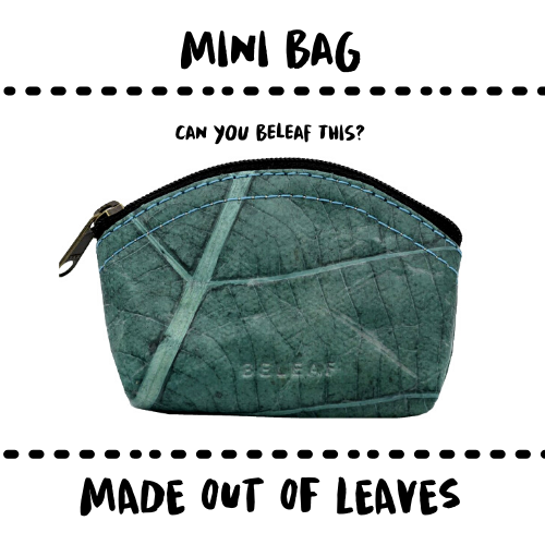 BAG - MINI - MADE OF LEAFS