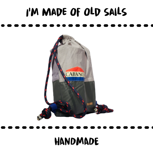 BAG - GUNNYSACK UPCYCLED SAILS - Damn Plastic