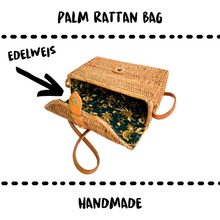 Load image into Gallery viewer, BAG - EDELWEISS RATTAN PALM #JENNY - Damn Plastic
