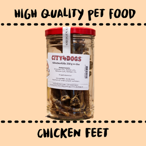 DOG SNACKS - CHICKEN FEET