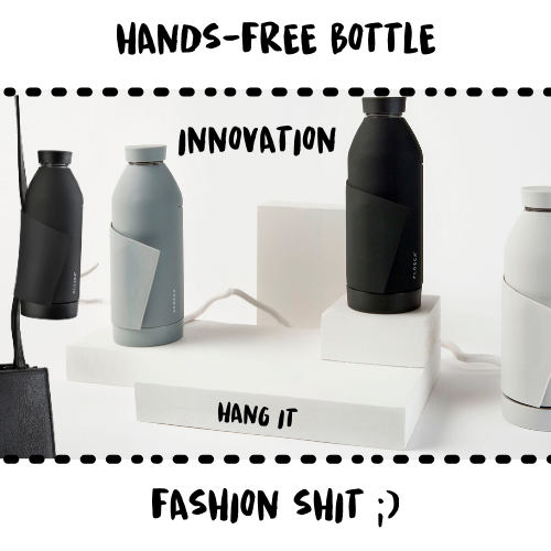 BOTTLE - CLOSCA #HANDSFREE UNI - Damn Plastic