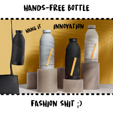BOTTLE - CLOSCA SAVANNA #HANDSFREE - Damn Plastic