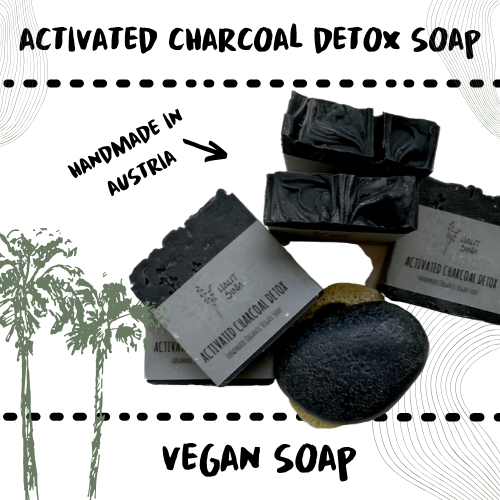 SOAP - ACTIVATED CHARCOAL - PROBLEMATIC SKIN