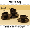 CUP - COFFEE #UPCYCLED COFFEE GRAINS - Damn Plastic