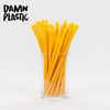 STRAWS MADE OF PASTA - Damn Plastic