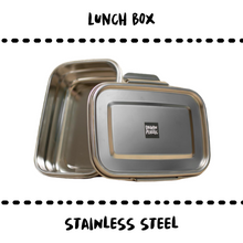 Load image into Gallery viewer, LUNCH BOX - STAINLESS STEEL - Damn Plastic