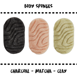 SPONGE - BODY WITH FUNCTION - 3 TYPES - Damn Plastic