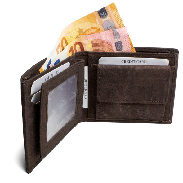 WALLET - CORK - MEN - Damn Plastic