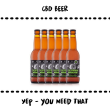 Load image into Gallery viewer, BEER + CBD ;) #6PCS