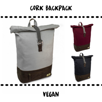 BACKPACK - CORK & VEGAN - Damn Plastic