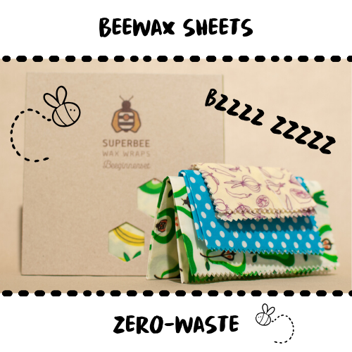 BEESWAX SHEETS - Damn Plastic