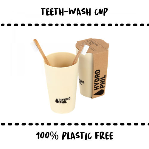 TOOTH-WASH - CUP - Damn Plastic