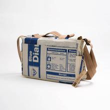 "Load image into Gallery viewer, BAG ""MESSENGER BAG"" - UPCYCLED"