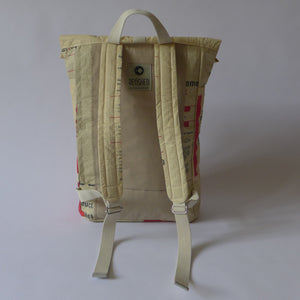 BACKPACK UPCYCLED #CEMENT-BAGS