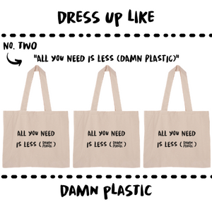 ORGANIC BAG - LARGE - Damn Plastic